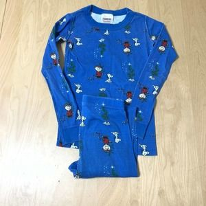 Hanna Andersson Peanuts Long John Pajama Set